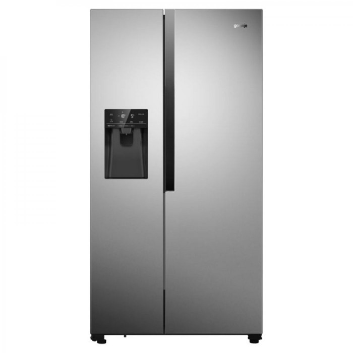 Хладилник Side by Side Gorenje NRS9182VX Total NoFrost с диспенсър за вода, 179 см