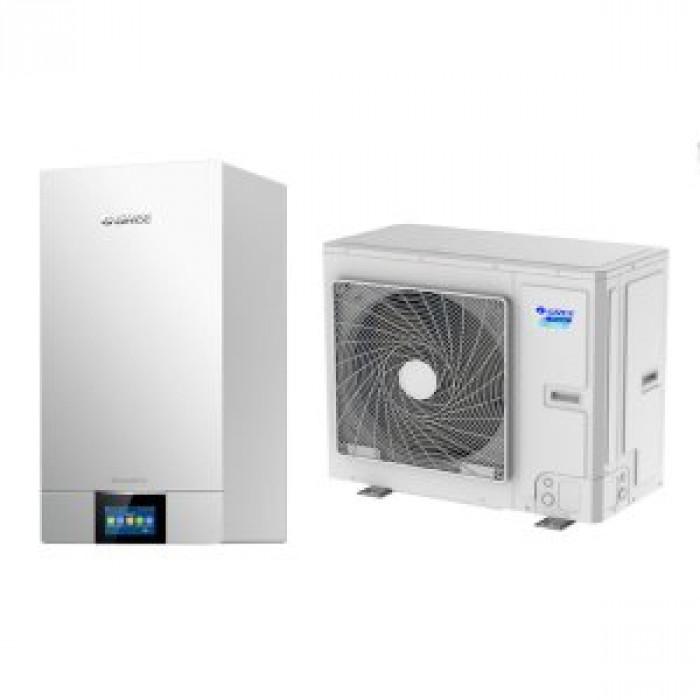 Термопомпа Gree Versati III GRS-CQ10Pd/NhH-E, 10 kW, отопление, охлаждане и БГВ